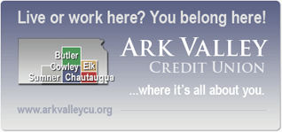 Live or work here? You belong here! - Ark Valley Credit Union - where it's all about you.